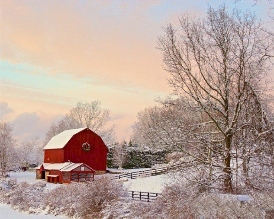 2014-01 A 1 Bob Berthier - Winter Sunset Newtown-957x768.jpg