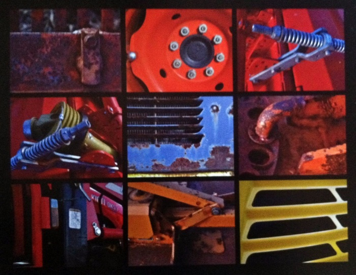 Metallic Collage 2 – Transportation Up Close