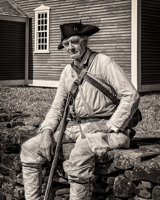 Old and Weary Soldier