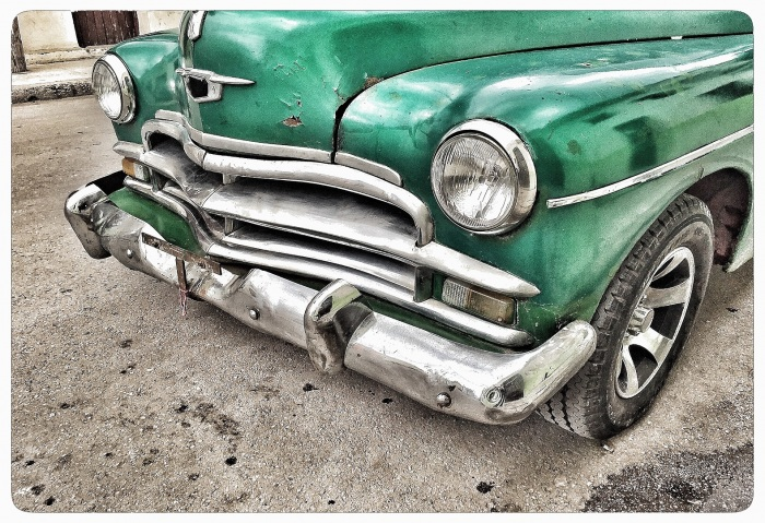 Cuba Car 50 Years Old