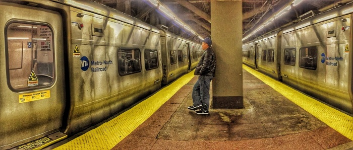 Subway Lone Traveler