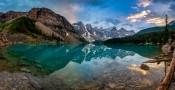Crystal clear Moraine Lake