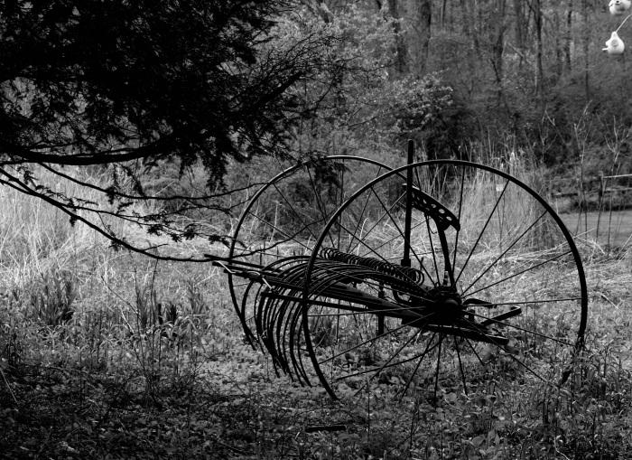 Big old wheels