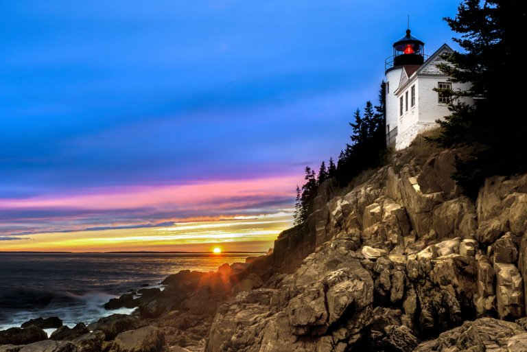 2017-04_Print_Michelle-Babyak_Bass-Harbor-Head-Lighthouse-Maine-768x513