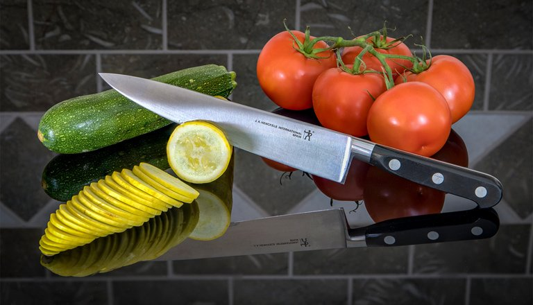 Category Kitchen Knife by Chane Cullens Slicing Vegetables Reflection