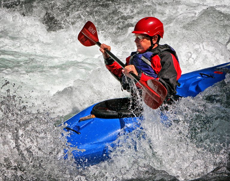 Category Sports Action by Rhonda Cullens The Kayaker