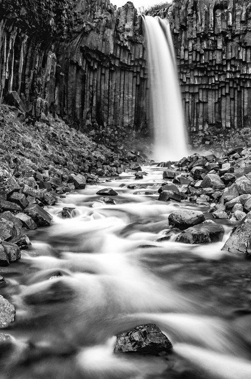 Category Waterfall by Jonathan Gordon Svartfoss Waterfall