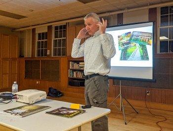 Chane presents at Bridgeport Camera Club