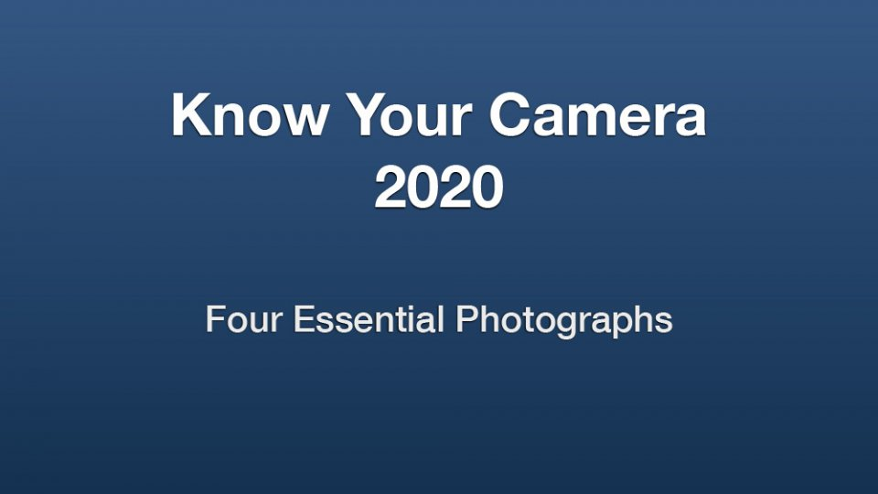 Know Your Camera 2020