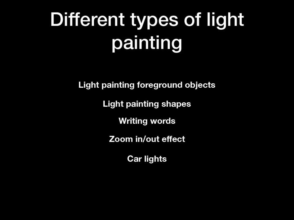 Light painting pdf