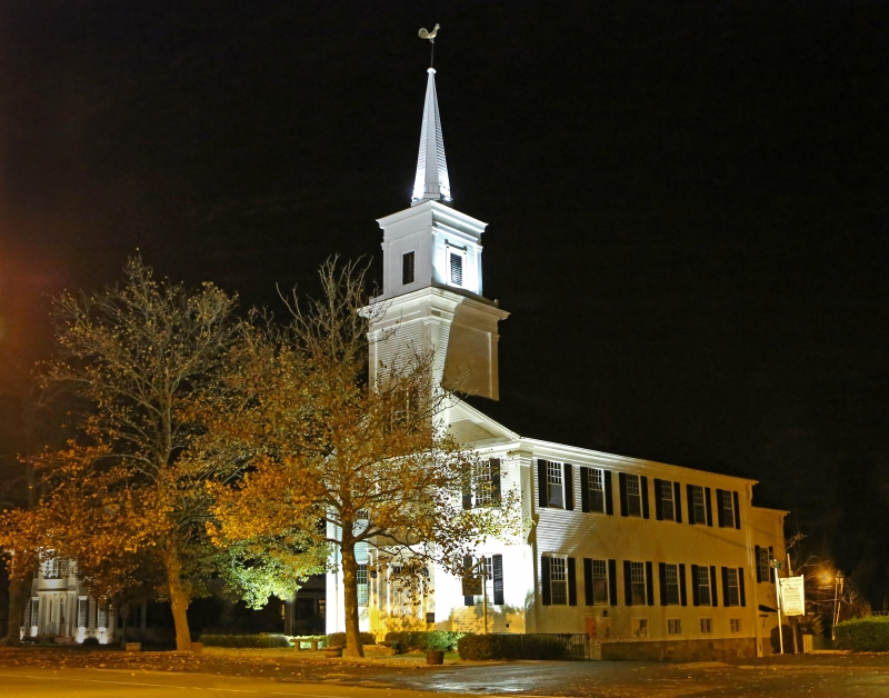 Newtown at Night