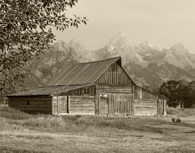 Grand Teton Moulton Barn