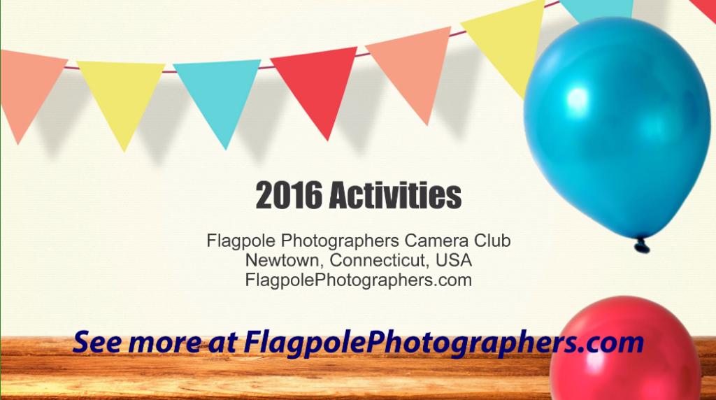 Video of our Jan – Nov 2016 Club Activities
