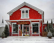 2016-06_PRINT_Rhonda-Cullens_The-General-Store-in-Winter