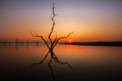 Sunset on Lake Kariba