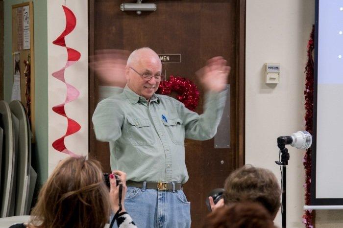 Know Your Camera by Charlie Batchelder @ Newtown Senior Center